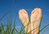 Lesbische Füße Bild