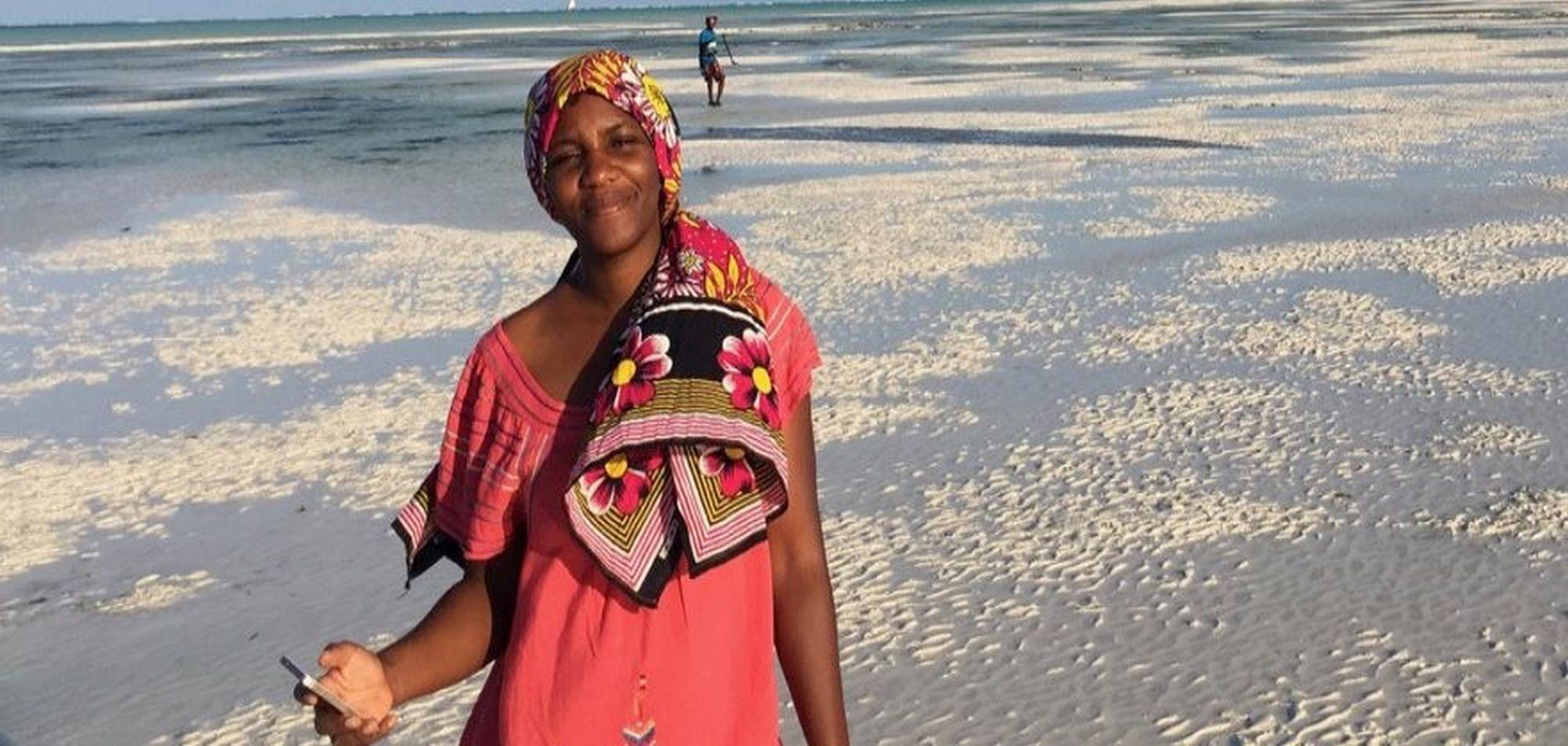 Sansibar Yamilah Reiseleiterin © Frauen Unterwegs - Frauen Reisen