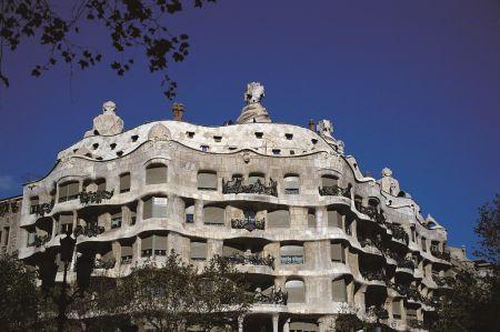 Gaudi-Gebäude